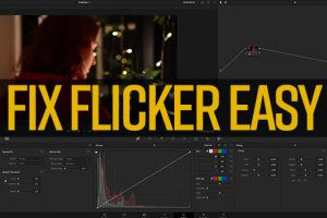 How to Fix Flicker Easy in Resolve 17