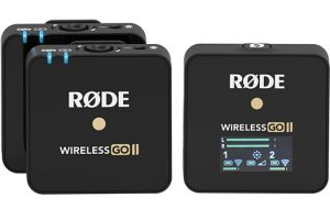 RODE Wireless GO II Gets Standalone Onboard Recording and More