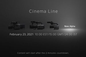 Sony to Announce a New Cine Camera on February 23
