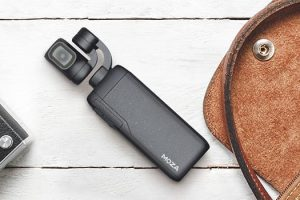 Meet the MOZA Moin – a Pocket-Sized Gimbal with a Camera
