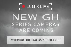 Panasonic to Announce New GH Series Cameras on May 25th