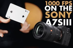 How to Shoot 1000 fps on the Sony a7S III
