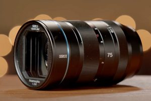 Closer Look at the Sirui 75mm f/1.8 Anamorphic Lens