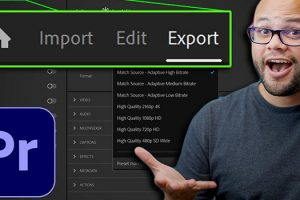 Closer Look at the New Import, Edit, and Export Workflow in Premiere Pro