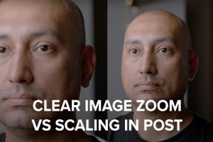 Clear Image Zoom vs Scaling Up in Post on the Sony a7S III and FX3