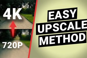 4 Easy Methods to Upscale Your Footage in Post