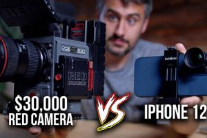 How to Blend Your iPhone 12 Pro Max Footage with a $30K RED Cinema Camera