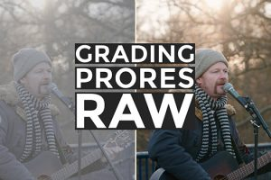 How to Color Grade ProRes RAW Properly